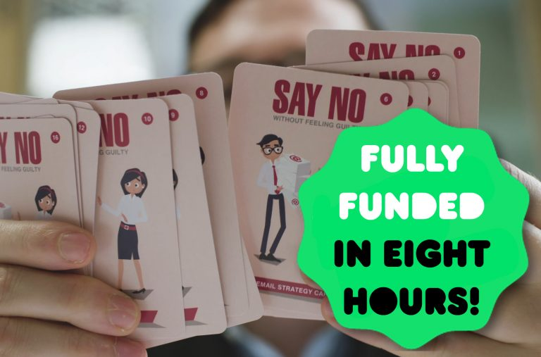 Spread of Say No theme in Email Strategy Cards