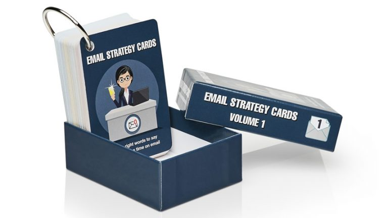Email Strategy Cards explainer video