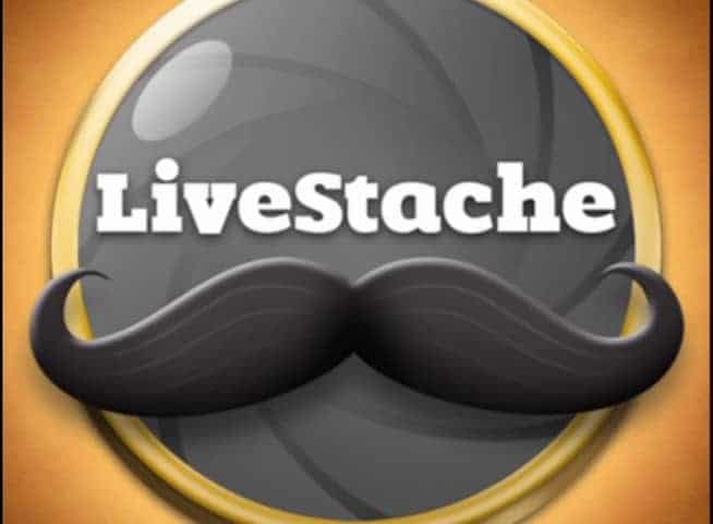 Screenshot of LiveStache promo video